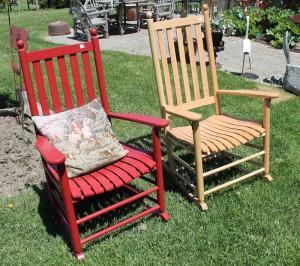 Slatback Rocking Chairs