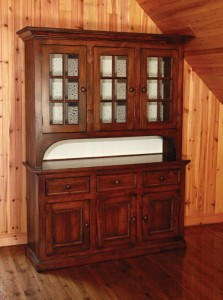 "Stepback Country Hutch 60"" x 19"" x 84"""