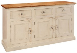 "Country Buffet; maximum (top) dimensions: 62 1/2 "" w x 19 1/2 "" d x 36"" h. Also available in 81 1/2"" wide."
