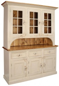 Stepback Country Hutch
