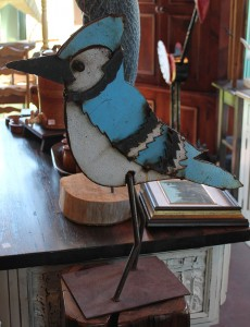 Metal Art Bluejay