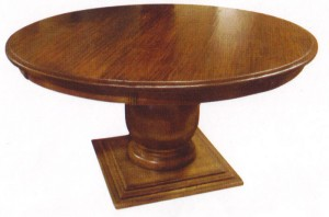Round Pedestal Table 72""