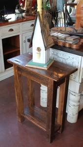 Rustic Old Pine Occasional Table. Available in many sizes upon request.